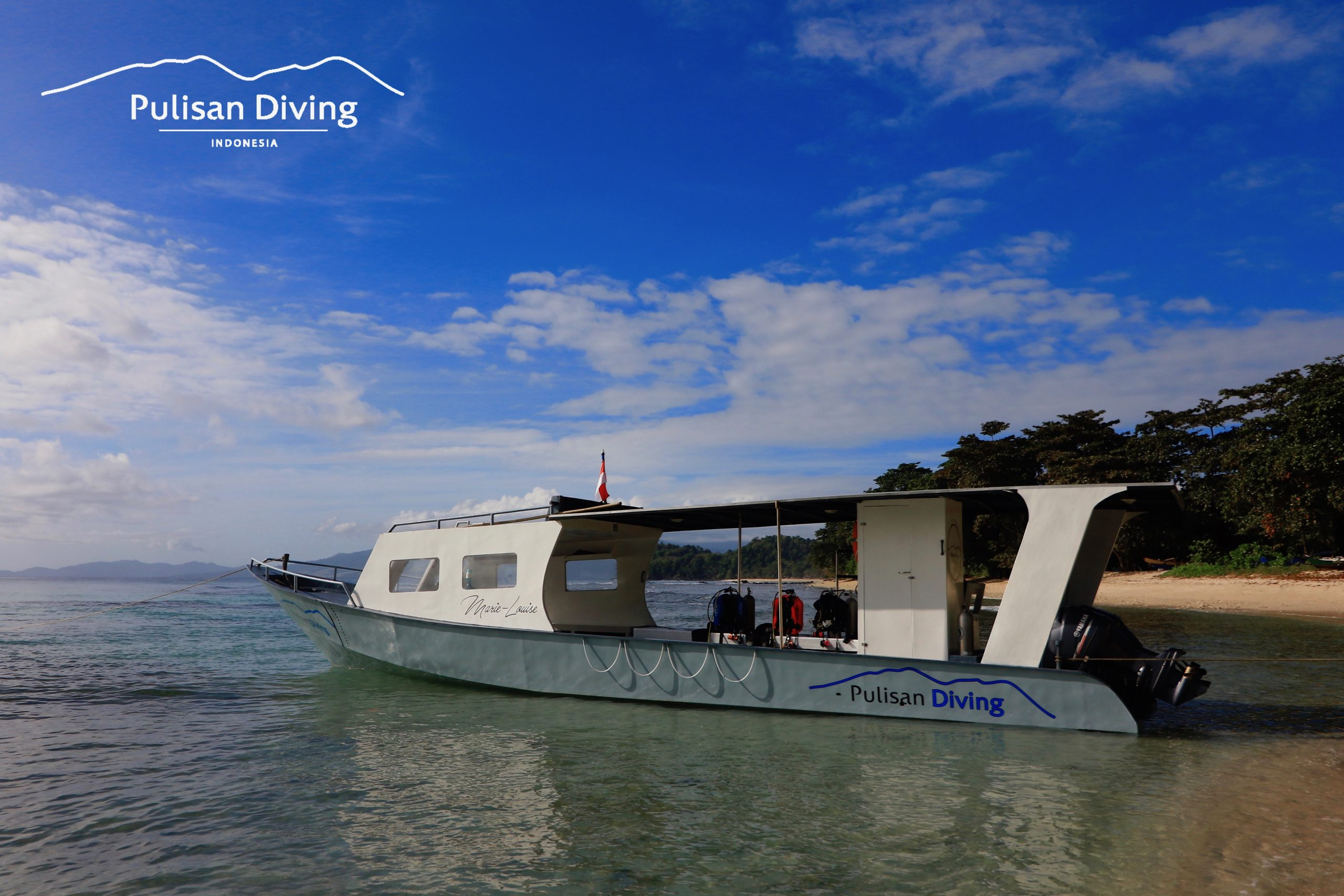 pulisan diving boat indonesia